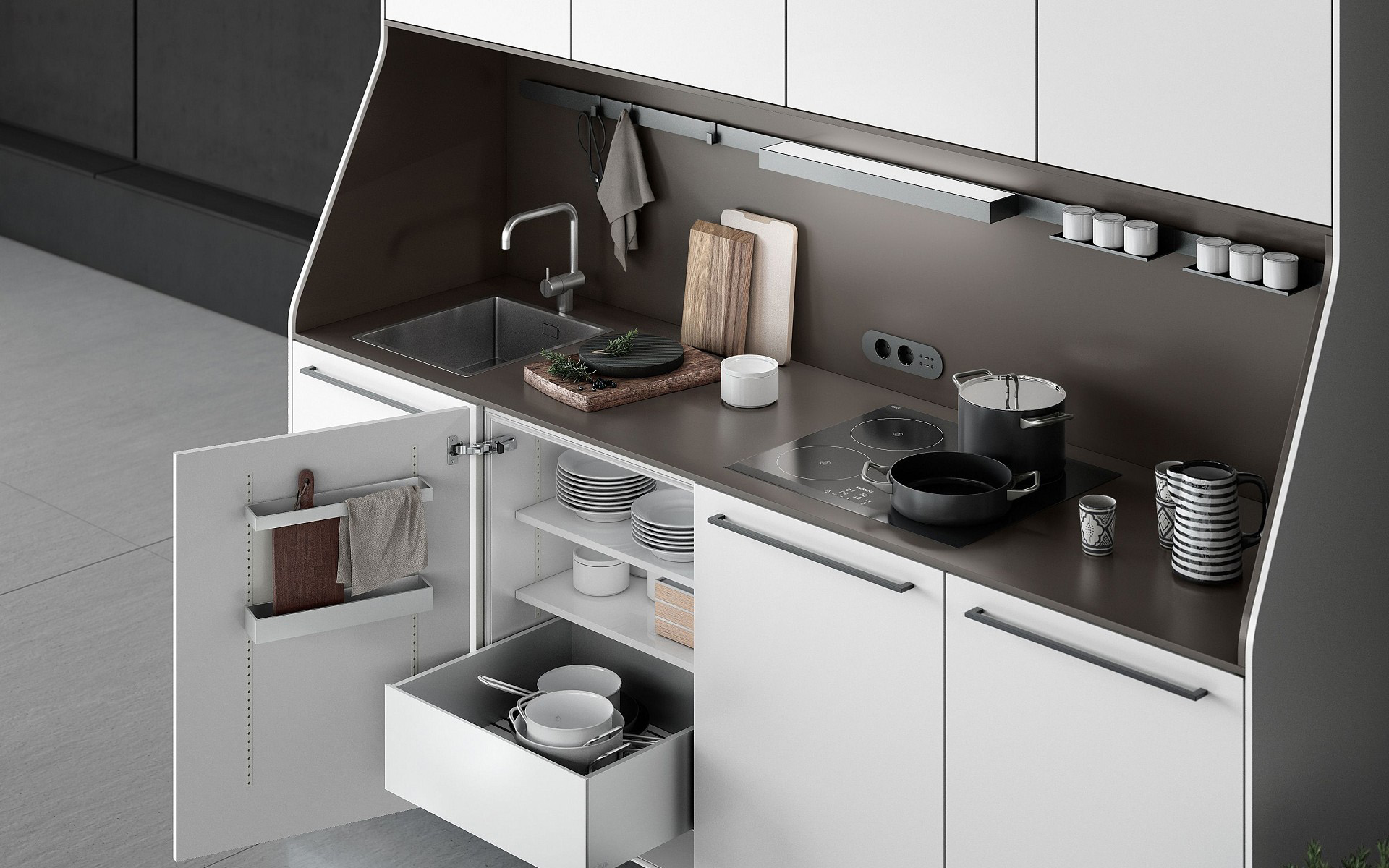 SieMatic kitchen buffet